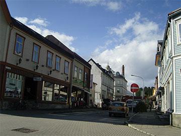 Henningsvær sentrum
