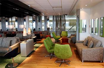 Lounge Gardermoen lufthavn